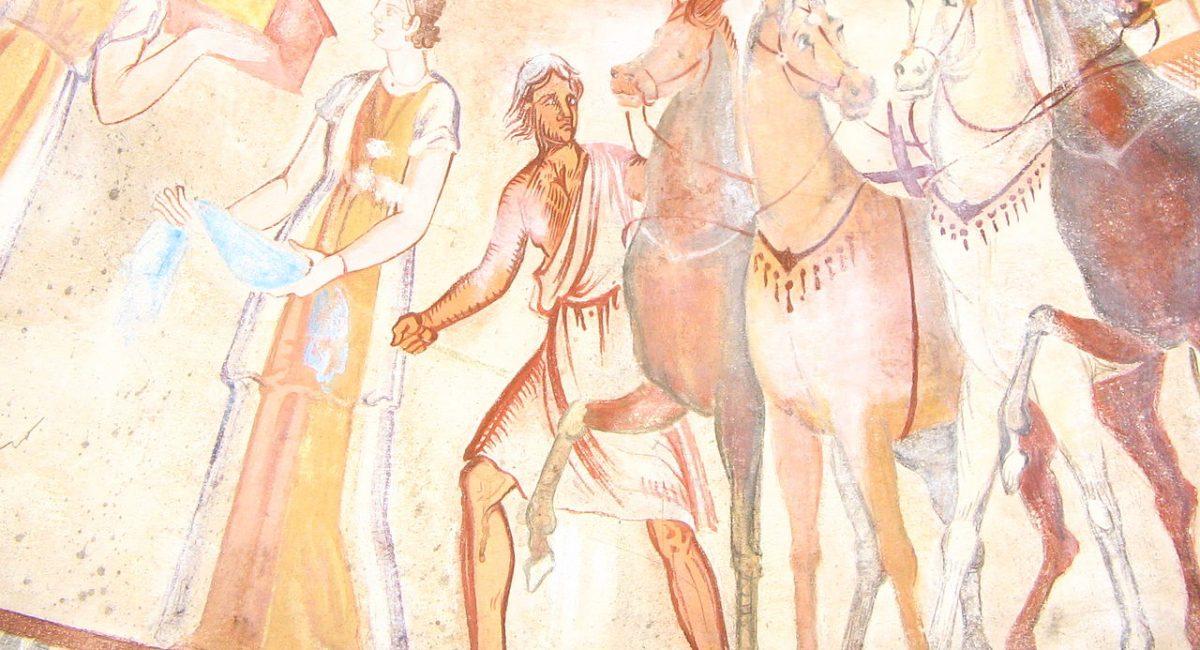 1280px-Kazanlak-tomb-fresco-1