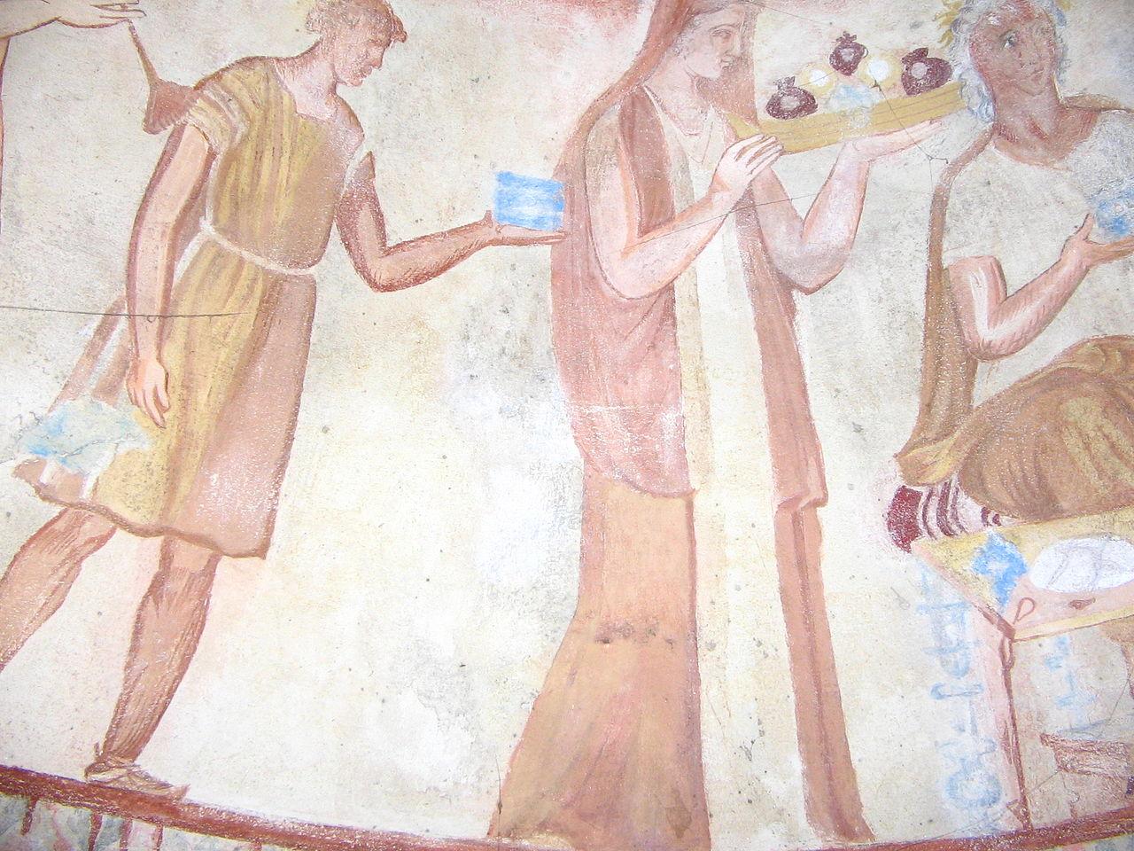 1280px-Kazanlak-tomb-fresco-3